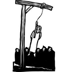 Public Hanging vector image