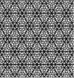 Seamless abstract pattern in the form of triangles vector