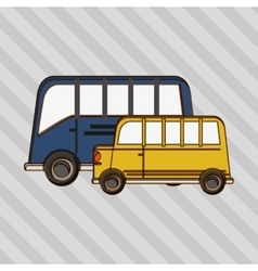 Transportation icon design vector image