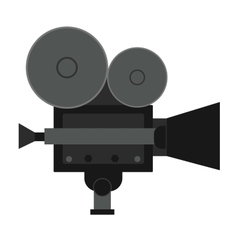 Video movie cinema amera vector