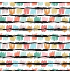 Seamless pattern with fashion texture vector image vector image