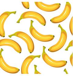 seamless texture of bananas vector image vector image