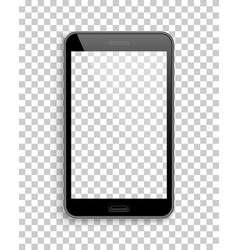 tablet mockup template transparent background vector image vector image
