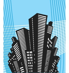 Urban style vector image vector image