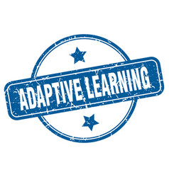 Adaptive learning stamp adaptive learning round vector