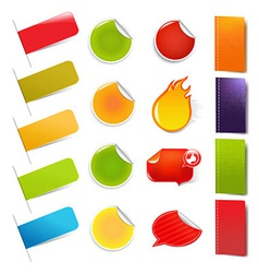 Big Sale Stickers And Labels vector image