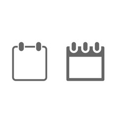 calendar web icon template for your vector image