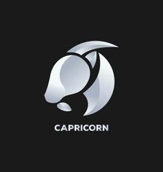 Capricorn Horoscope Icon vector