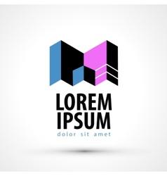Company name logo design template busines vector