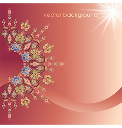 Decorative cover template thirty three vector