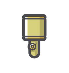 grenade explosive shell icon cartoon vector image