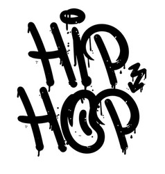 hip hop graffiti tag vector image