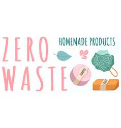 Natural homemade organic soap bar and shampoo body vector