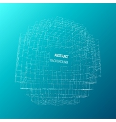 Abstract architect vector