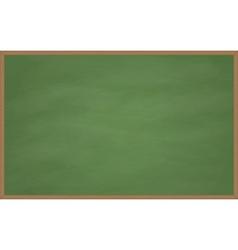 Blank chalk board vector