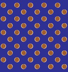polka dots geometric seamless pattern 601 vector image vector image