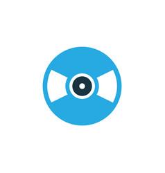 vinyl colorful icon symbol premium quality vector image vector image