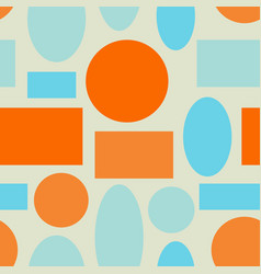 seamless abstract geometric colorful vector image vector image