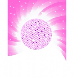vector pink background vector image vector image