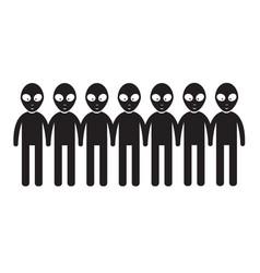 Alien icon design vector