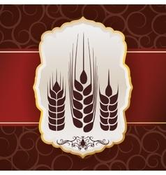Barley design vector