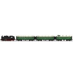 Classic steam train vector