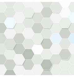 Hexagon tile transparent background vector image
