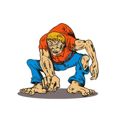 Hunchback pointing vector