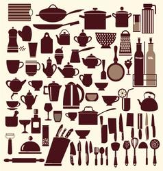 kitchenware set - vector image