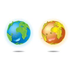 Love earth vector