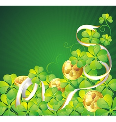 st patricks vector image