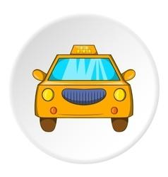 Taxi icon cartoon style vector image