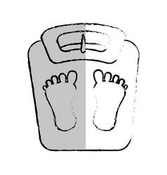 balance bathroom isolated icon vector image
