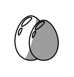 egg food fresh breakfast vector image