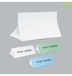 reminder cards vector image