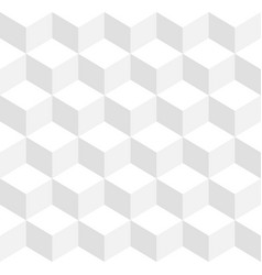 3d cubes tricolor geometric background vector image