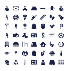 49 professional icons vector