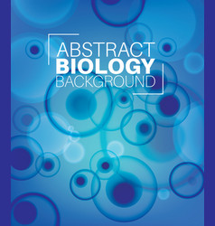 abstract biology background vector image