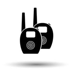 Baby radio monitor ico vector