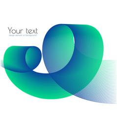 graphic element for design background blend vector image