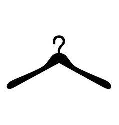 Hanger icon isolated on white vector
