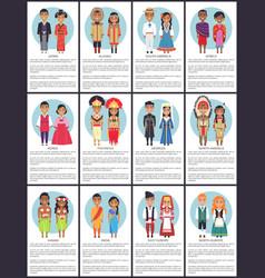 japan and alaska posters set vector image vector image