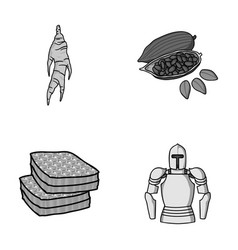 Medicine beekeeping and other monochrome icon in vector