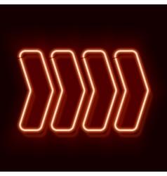 Neon arrow indicates the direction vector