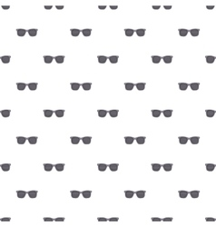 Pinhole glasses pattern cartoon style vector