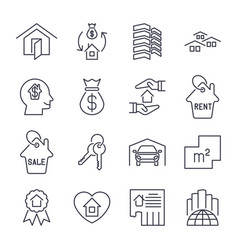 Real estate icon suitable for info graphics vector