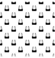 sports bra pattern seamless vector image