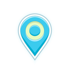 map location pin vector image vector image