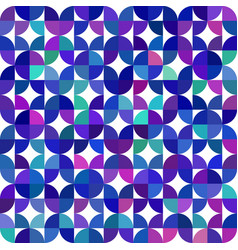 seamless geometrical pattern made of quarter vector image