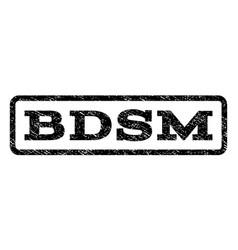 bdsm watermark stamp vector image